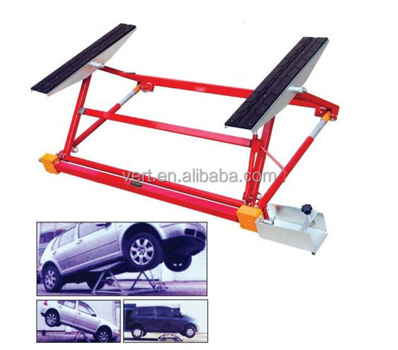 VT-L1000 VERT China 1500kgs mini tilting car lift for car service with CE