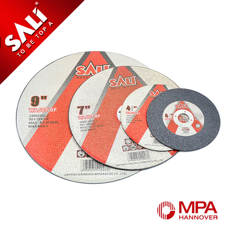 Factory direct free sample disc wheel for stainless steel , disc wheel for inox ,