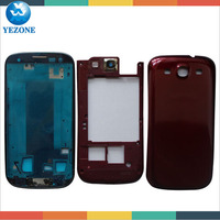 Cell Phone Complete Housing Replacement for Samsung i9300 Galaxy S3, Repair Parts For Samsung S3 i9300 Full Set Cover Assembly