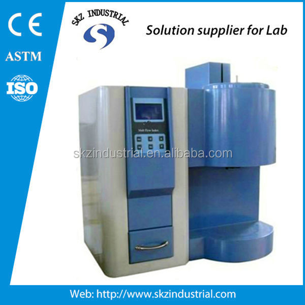 LCD melt flow index tester