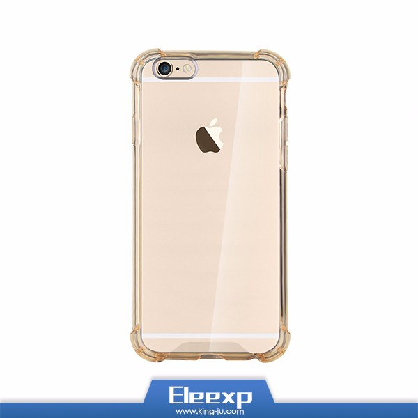 Good quality clear soft TPU cover for iphone 6 case transparent cases for iphone 5s bag case