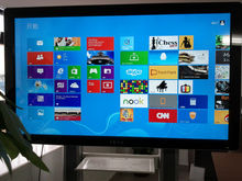 "wall mount PC TV all in one/65"" touch screen all in one pctv/i3/i5/i7 processor for op/ EKAA 65inch interactive touch whiteboard"