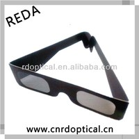 Different shapes paper linear polarized 3D glasses for dvd movies for adults only 21