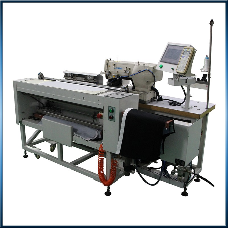 Industrial automatic shirt button hole sewing machine juki hole machine