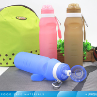 FDA Approved 600ML Non Toxic Foldable