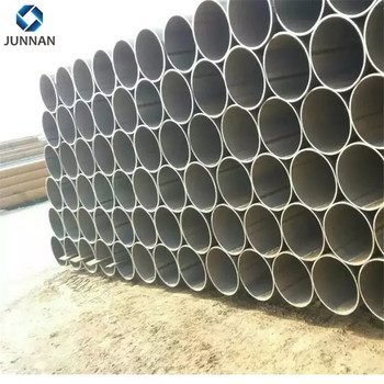 Best price Q235 carbon steel round pipe for building