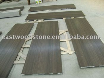 polished stone table top