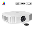 2017 Christmas Promotion 3300LM 1920*1200 Home Theater LED Projector with Remote Control, Support WiFi Blue-tooth