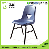China supplier professional PP Plastic Meeting Room Chair , Waiting Room Chair
