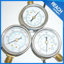 Different type hotsell diaphragm pressure gauge for homogenizer