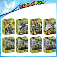 hot educational toys decool 0144-0146 blocks special forces blocks