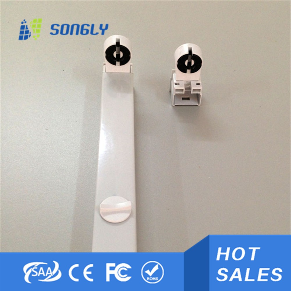 T5/T8 led tube lamp holder and lantern support for fluorescent lamp tube