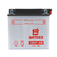 250cc motorcycles vrla battery 12v 7ah