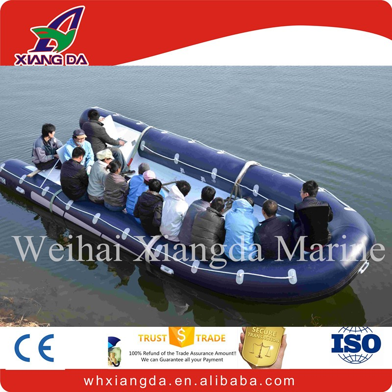 Console for Aluminum Rigid inflatable boat with outboard motor