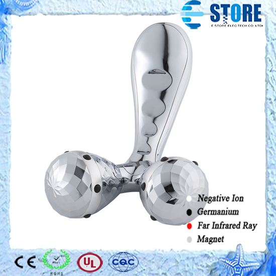 Y-shaped 3D Germanium Facial Beauty Roller Body Massager Roller