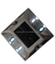 flash or constantly flash waterproof Reflective Aluminum Led Solar Road Stud