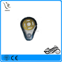 Hot Sale& Top Quality Chinese Motocicleta Cadena CBX200 520-41T/13T For Motocicleta Parts