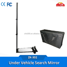 Telescoping inspection mirror,under vehicle safety check mirror with LED light
