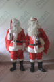quality soft plush santa claus mascot costumes