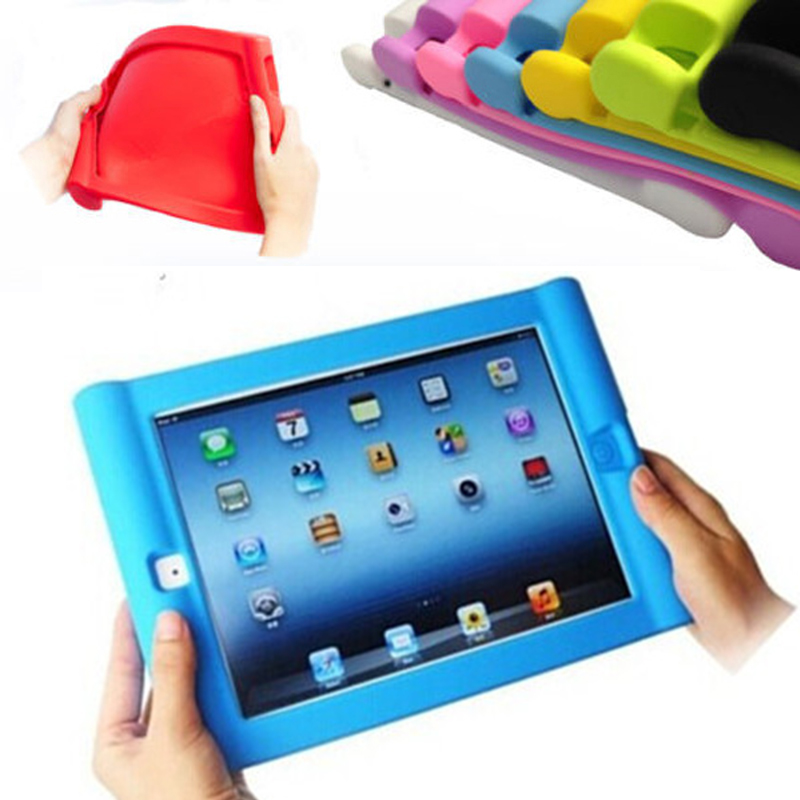 For APPLE IPAD AIR 5 / AIR 2 Case Protective Shockproof Soft Silicone Case Cover for iPad 5/6 Home Children School Kids Gamer