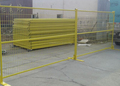6X10ft Canada Temporary Metal Fence with Metal Base Foot