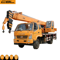 Super Quality Pick Up 8 ton Truck Cranes with Strong Engine