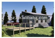 20 feet steel structure prefabricated container house