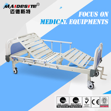 Medical disable care 2 cranks manual hospital bed in malaysia
