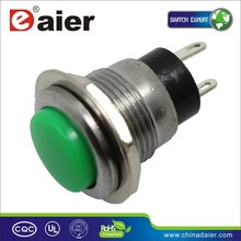 OFF-(ON) SPST 2pin momentary on low voltage push button switch