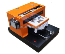 A3 size DTG printer White Ink multicolor digital t shirt brand flatbed printing machine