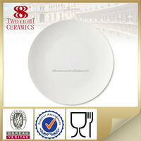 Bone china dishes for banquets bulk dinner plates ceramic pizza plate