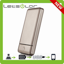 10000mAh Ultra Slim Dual USB (2.4A / 1A Output) Portable Power Bank External Battery Charger