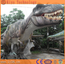 large outdoor fiberglass dinosaur replica statues for sale