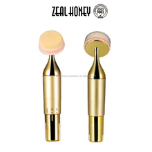 Zealhoney High Quality Electric Powder Puff Facial Makeup Sponge Vibrating Cosmetic Puff with sponge