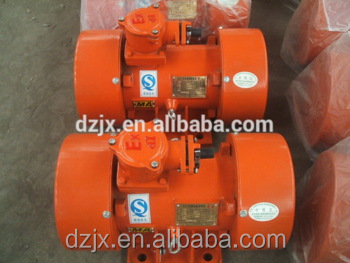 Using professional bearing mini electric motor for concrete mixer