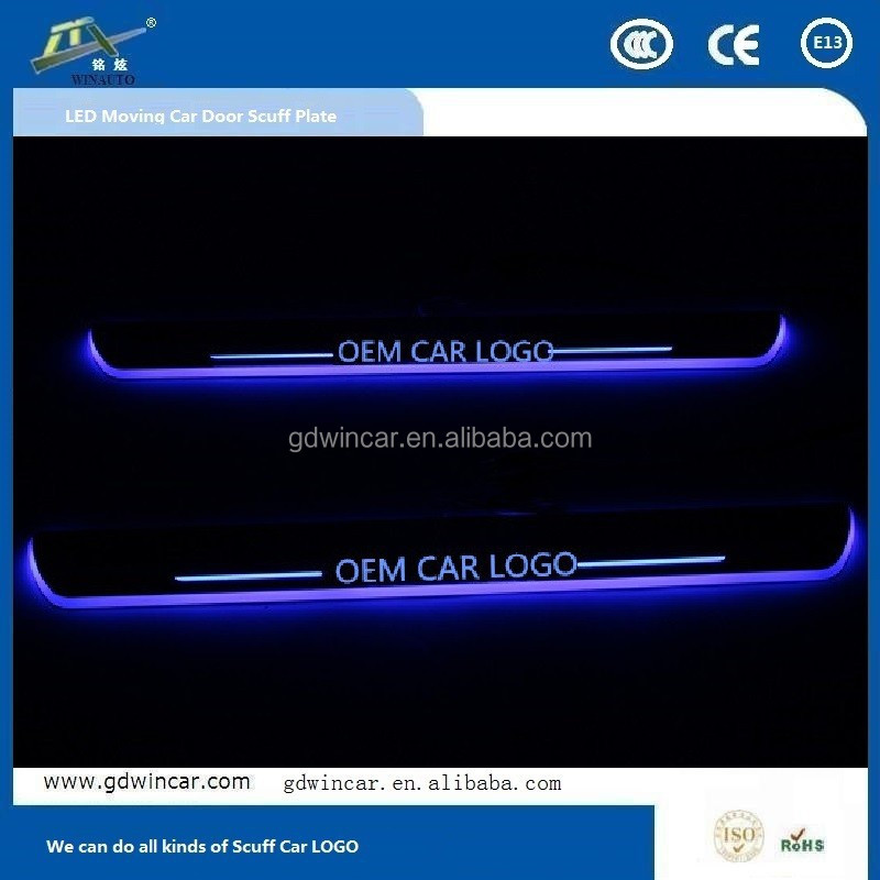 for Honda Crosstour new product door scuff LED footboard light 2011 2012 2013