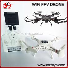 China Wholesale 2.4G 4ch Medium Wireless Wifi fpv RC Quad copter with hd camera for aerial video