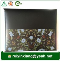 Bag shape and document bag type colored A4 plastic document holder