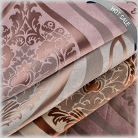 2016 New curtain drapery designs jacquard curtain fabric