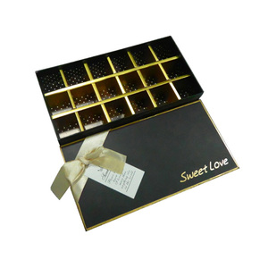 Chocolate engagement paper gift box packaging box for baby Christmas gift
