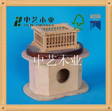 2015 year selling ISO9001&FSC&SA8000 handmade garden wooden bird house/cages /nests with factory price