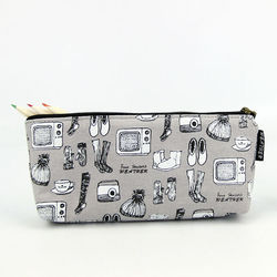 LANGUO pencil case denim with high quality students stationery model:XQBD-751
