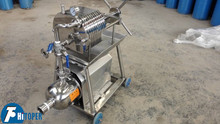 Great filtration precision stainless steel press for water oil filtration