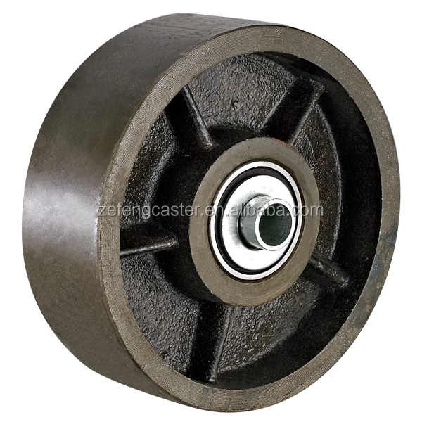 Cast iron forged steel wheels buy casters