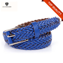 New Style Handmade Cowhide Mexican Leather Belts Braided Belt Genuine Women