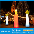 LED inflatable candle column