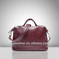 4803-Lady genuine leather handbags,no brand real leather handbags