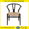 Hans Wegner Y chair iron frame with rattan seat
