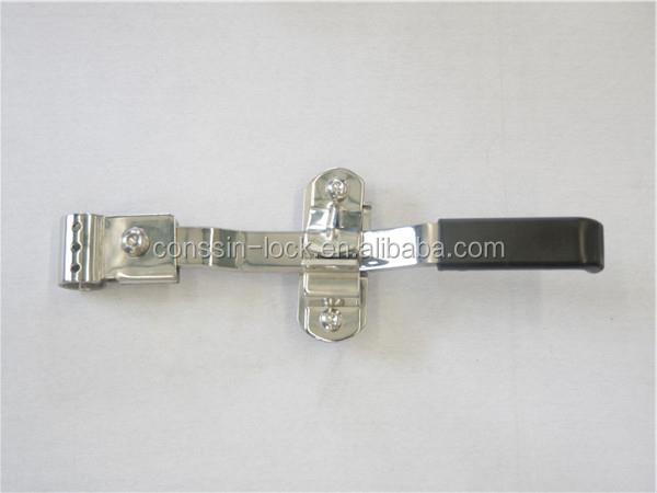 Horse trailer stainless steel door handle latch view for Salt resistant door handles