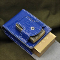 Wholesale Popular Customized High Quality Leather Cigarette Case